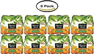 PACK OF 8 - Minute Maid 100% Juice Orange - (6 count) , 10.0 FL OZ
