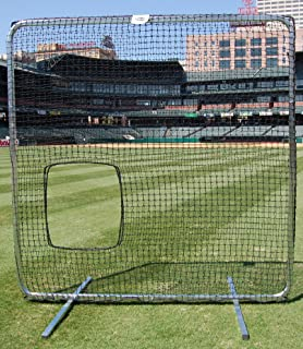 Procage Premium Softball Pitcher Protective Screen with Net, 7 x 7-Feet