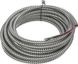 Southwire 68582621 25' 14-3 Solid CU Armorlite Metal-Clad Cable
