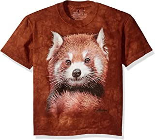 The Mountain Men's Red Panda Portrait T-Shirt