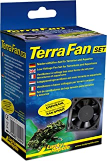 Lucky Reptile TF de 1 Terra Fan Ventilador Set para terrarios