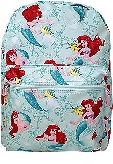 Disney Little Mermaid Princess Ariel & Flounder 16'' IN Backpack