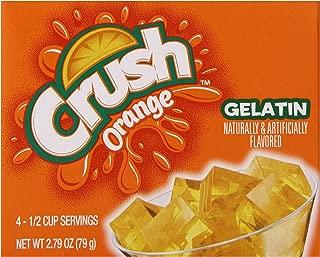 Crush Orange Gelatin Dessert Mix (12 - 2.79 oz Boxes)