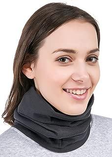 Neck Warmer - Winter Fleece Neck Gaiter & Ski Tube Scarf for Men & Women - Cold Weather Face Cover, Mask & Shield