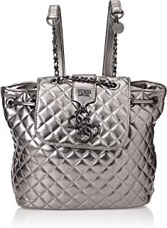 GUESS Womens Backpack Bag, Pewter - MM743632