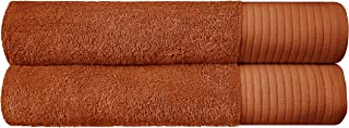 Set of 2 - JINAMART Luxury Soft Bath Towels |100% Cotton with 650 GSM | Maximum Softness & Highly Absorbent Quick Dry |Gym...