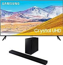 Samsung UN85TU8000 4K Crystal 8 Series Ultra High Definition Smart TV with a Samsung HW-Q800T 3.1.2 Ch Dolby Atmos Soundba...