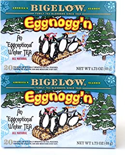 Bigelow Eggnogg'n Tea, 1.73 Box (Pack of 2)
