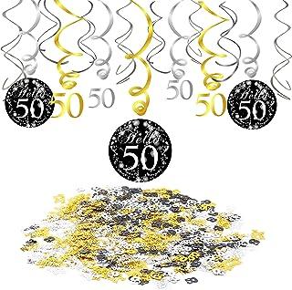 d75e21314a Konsait 50th Birthday Decoration