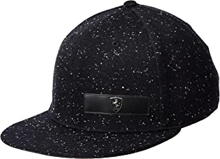 Puma SF LS Flatbrim Black Hat For Unisex, Size One Size