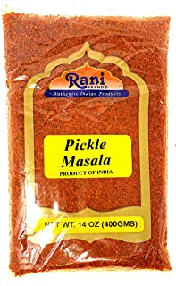 Rani Pickle (Achar) Masala Natural Indian Spice Blend 14oz (400g) ~ Vegan | Gluten Free Ingredients | NON-GMO | No colors