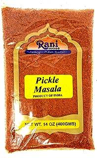 Rani Pickle (Achar) Masala Natural Indian Spice Blend 14oz (400g) ~ Vegan | Gluten Free Ingredients | NON-GMO | No colors