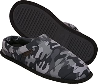 Dearfoams Mens 80204 Quilted Clog