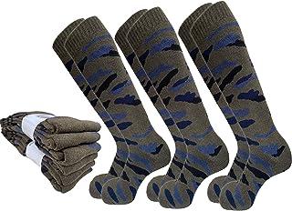 Lucchetti Socks Milano, 6 Pares Calcetines térmicos Hombre Invierno esquì Thermo Cotton