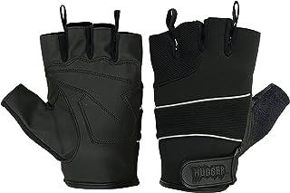 Men's Breathable Reflective Fingerless Motorcycle Gloves
