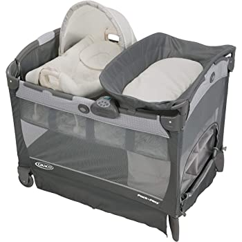 Graco Pack 'n Play Playard with Cuddle Cove Removable Rocking Seat, Glacier