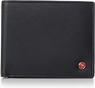 RFID Luka Men's Flip ID Wallet Deluxe Capacity ID Bifold With Divided Bill Section Camden Collection