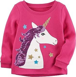 Carter's 公司粉色独角兽运动衫。 3 个月