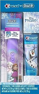 Oral-B 欧乐B 迪士尼冰雪奇缘的儿童套装 氟化物防龋牙膏及电动牙刷(刷头样式随机)