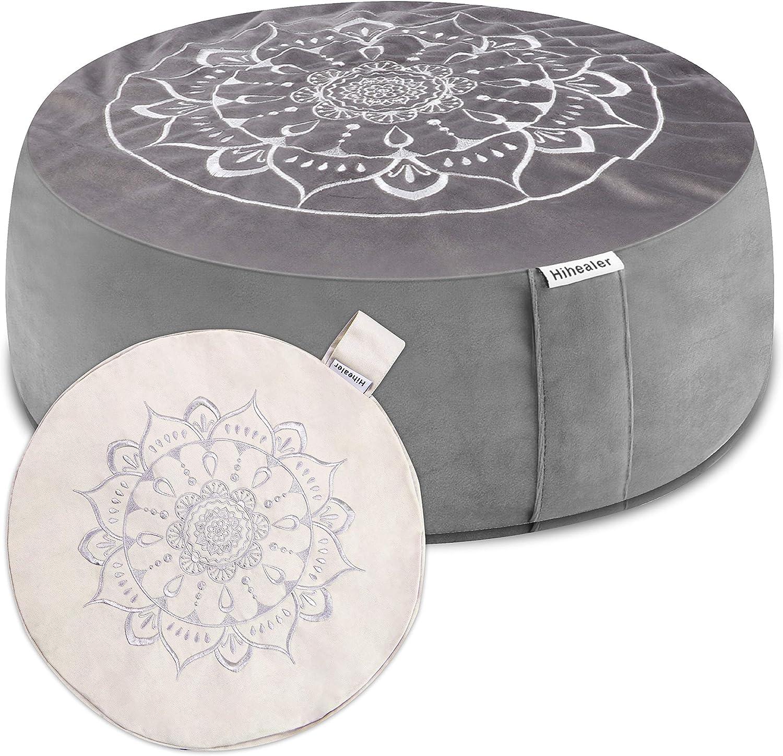 Max 43% OFF Hihealer Meditation Cushion Floor Pillow Cover 16