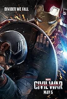 Captain America: Civil War - Movie Poster, Size 12 x 18