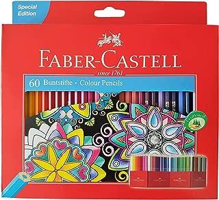 Faber Castell Premium Color Pencils, 60 colour