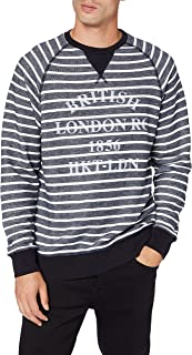 Hackett London Men's Hkt LRC Str Crew Sweatshirt