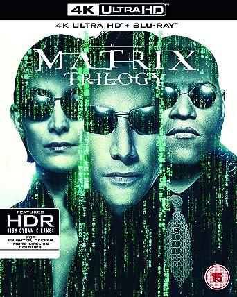 マトリックス トリロジー [4K UHD + Blu-ray リージョンフリー 日本語有り](輸入版)