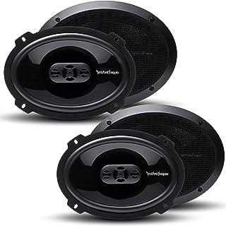 2 Pairs of Rockford Fosgate Punch P1694 300W Peak (150W Rms) 6x9 4-Way Punch Series Full Range Coaxial Speakers - 4 Speake...