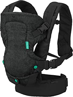 Infantino Flip 4-in-1 Carrier - Ergonomic, Convertible, face-in and face-Out, Front and Back Carry for Newborns and Older ...