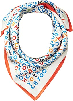 Tory Burch - Lettering Neckerchief