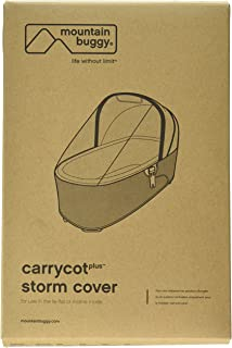 Mountain Buggy Storm Cover for Carrycot Plus for 2015 Urban Jungle, Plus One, and Terrain