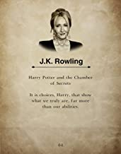 H+CO Inspired - J.K. Rowling - Wall Art Book Quote Print- H Potter - 11inch x 14inch - Perfect gift under $15 for Potter Fans