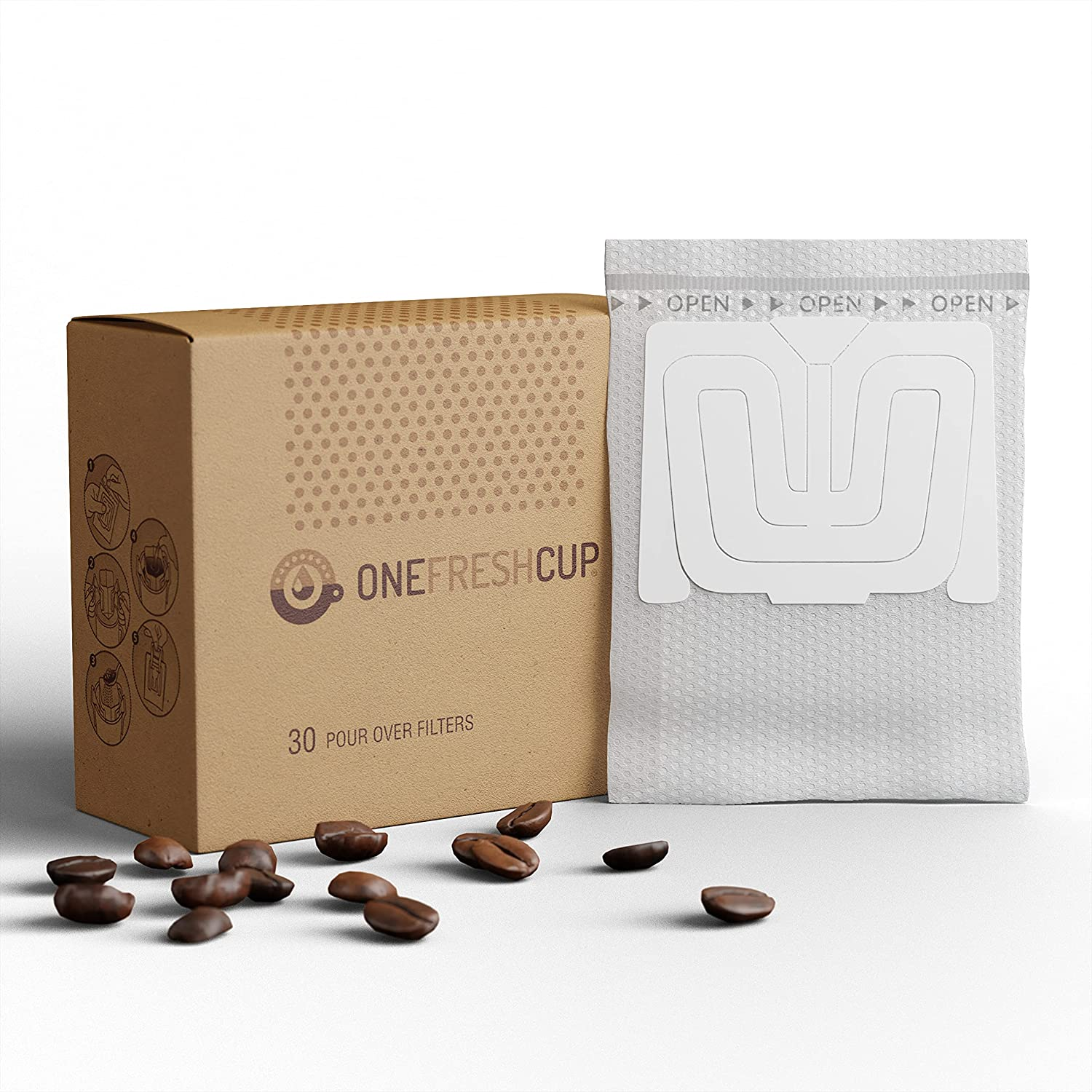 One Fresh Cup Very popular Coffee - Single Portable Over Special price Serve Cof Pour Empty
