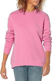 Amazon Brand - Goodthreads Women's Heritage Fleece Beefy Crewneck Sweatshirt