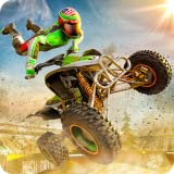 Stunt Extreme Man Down Hill Jumping Feast Adventure 3D: Atv Hill Climbing Racing Simulator Game Free For Kids
