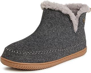 Dearfoams Men's Alpine Brixen Boot Slipper