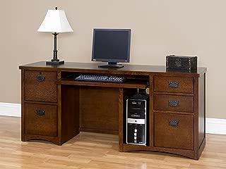 Martin Furniture Mission Pasadena Computer Credenza