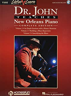 Dr. John Teaches New Orleans Piano - Complete Edition: Listen & Learn Series Includes Books 1, 2 & 3