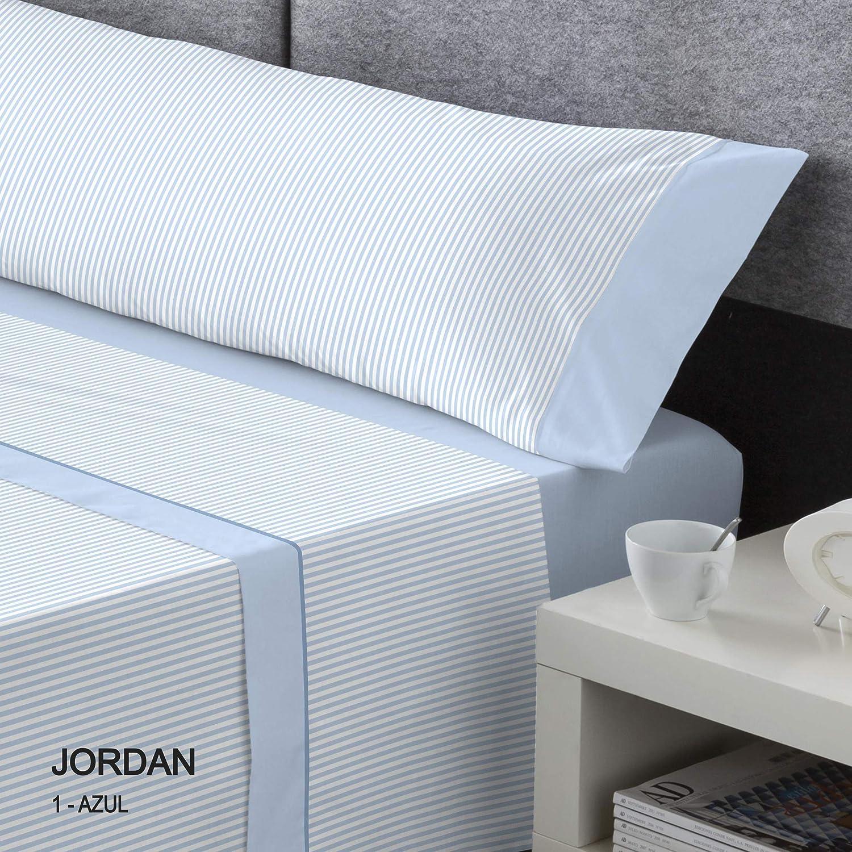 diseño simple y generoso Franela Dart Dart Dart Jordan Juego De Cama, Azul, 150  calidad garantizada