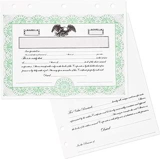 Best llc stock certificates Reviews