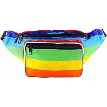 Poop With Crown Sport Waist Pack Fanny Pack Adjustable For Hike