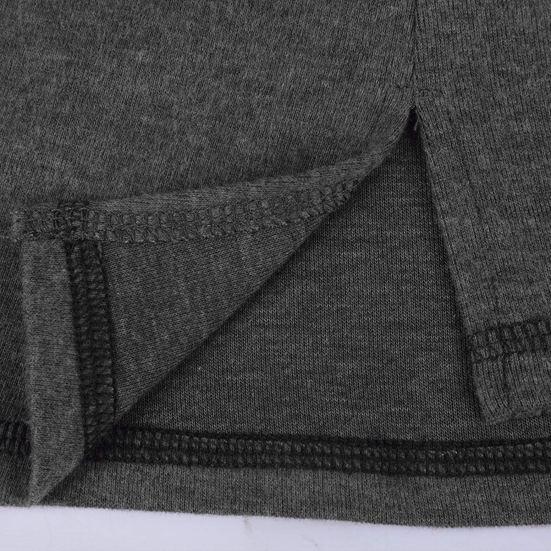 MoneRffi Camisetas de Manga Larga para Mujer Verano Blusas y Camisas Casual Vintage T/única Tops Jersey Sudadera Largo