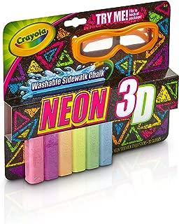 Crayola Neon 3D Sidewalk Chalk