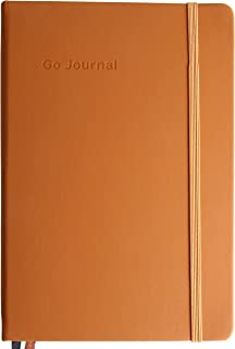 Go Journal - The Guided Journal for Personal Growth: Plan Your Goals in 10 Minutes per Day - Plan Your Day, Stay Grateful, Keep Growing - Undated, 90 Days - 2019 Edition (Napa Brown)