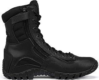 TACTICAL RESEARCH TR Men's Khyber TR960Z Lightweight Side-Zip Tactical Boot