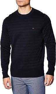 Tommy Hilfiger Men's Raised Stripe Sweater