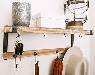 Entryway Coat Rack Shelf : 24