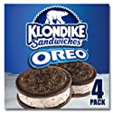 Klondike Ice Cream Sandwiches, Oreo, 4 ct