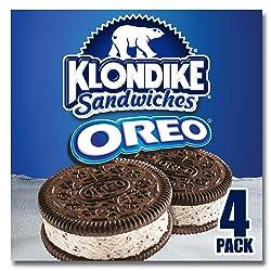 Klondike Ice Cream Sandwiches for a refreshing treat Oreo kosher 4 count